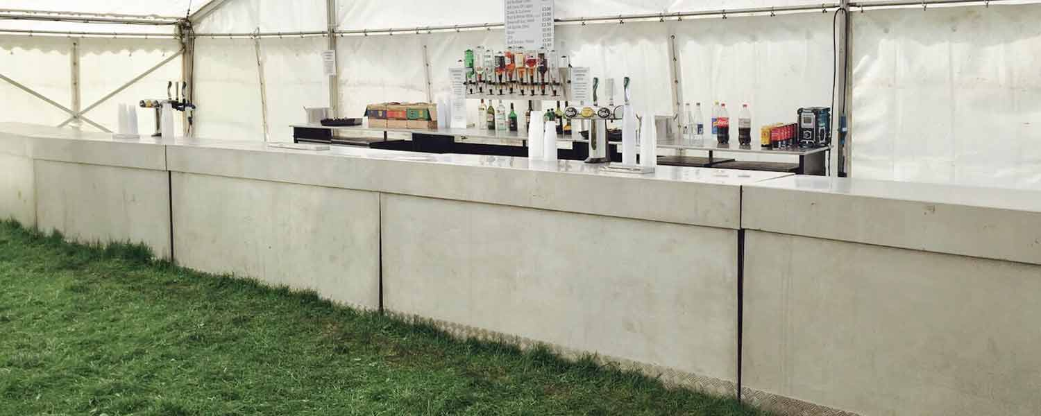 Any occasion large stainless steel bar